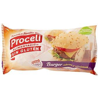 Proceli Pan burguer SIN GLUTEN caja 180 gr