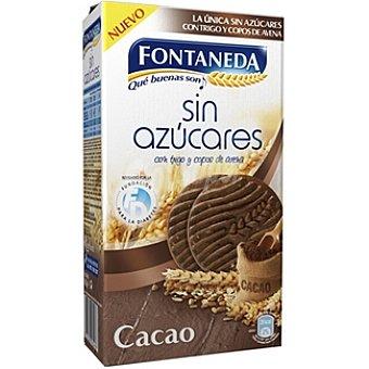 Fontaneda Galletas de trigo y avena al cacao sin azúcares añadidos Estuche 315 g