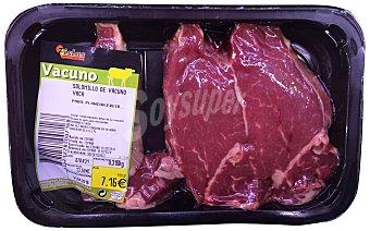 SIETE ISLAS Ternera solomillo filetes fresco Bandeja 300 g