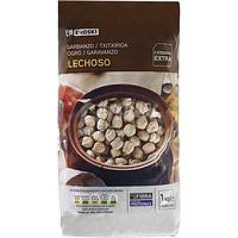 Eroski Garbanzo lechoso extra Paquete 1 kg