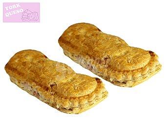 EMPANADA Empanada de queso y jamón 220 gramos 2 unidades