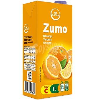 Condis Zumo naranja Brick 1 lts