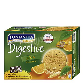 Fontaneda Galleta con trozos de soja caramelizados 700 g