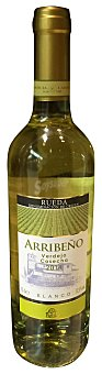 Arribeño Vino blanco rueda verdejo Botella 750 cc