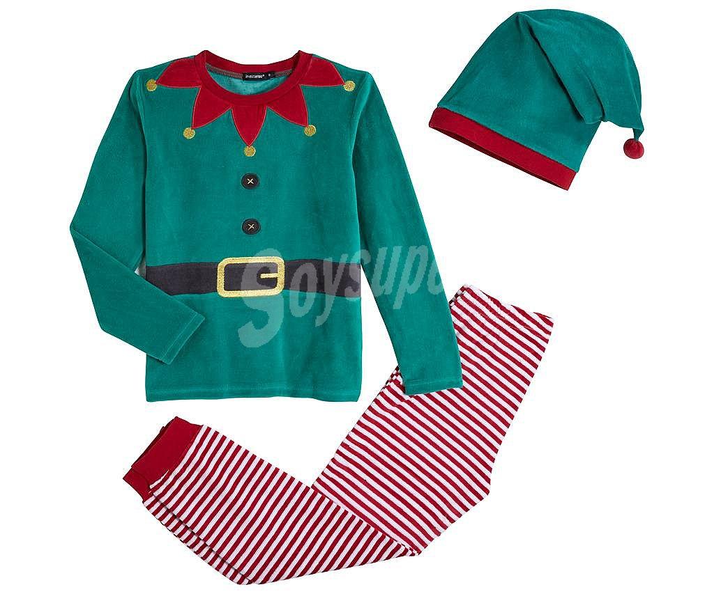 b624fd877d In Extenso Pijama disfraz de Elfo para niño talla 5.