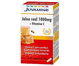 Juvamine Jalea real más vitamina C para contribuir al funcionamiento del sistema inmunitario 30 c