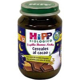Hipp Buenas Noches Tarrito biológico de choco Tarro 190 g