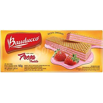 BAUDUCCO Wafer Sabor fresa paquete 140 g Paquete 140 g