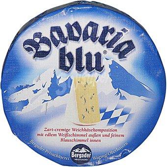 Bergader Queso azul Bavaria peso aproximado pieza 1 kg 1 kg
