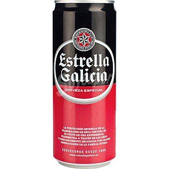 Estrella Galicia Cerveza especial Lata 33 cl