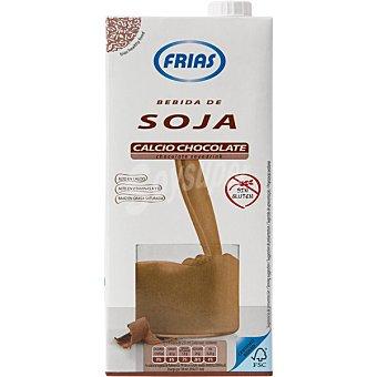 FRIAS Bebida de soja sabor chocolate  envase 1 l