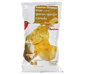 Auchan Patatas fritas con sabor a queso curado 160 gramos