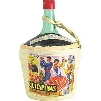 QUITAPENAS Vino dulce moscatel dorado D.O. Málaga Garrafa de 2 l