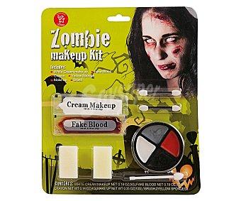 Llopis Kit de maquillaje Zombie, Halloween 1 unidad