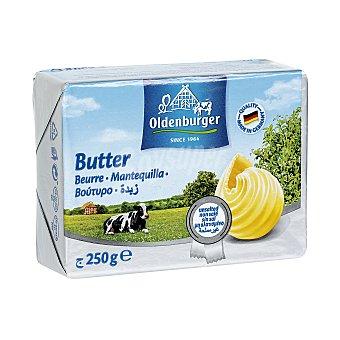 Oldenburger Mantequilla sin sal Pastilla 250 gr