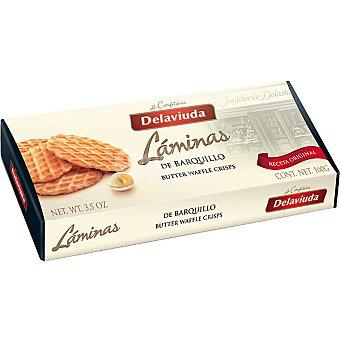 Delaviuda Laminas de barquillo Estuche 100 g