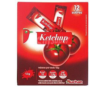 Auchan Ketchup en monodosis Bolsa de 12 grs pack de 12