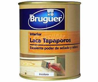 BRUGUER Laca Tapaporos para madera, incolora 0,375 Litros
