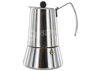 MONIX Cafetera de acero inoxidable para 6 tazas de acero inoxidable, modelo Eterna 1 Unidad