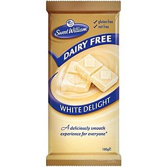 Sweet william Chocolate blanco sin lactosa sin gluten Estuche 100 g