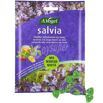 A.VOGEL Salvia Bonbons Caramelos rellenos de salvia fresca con miel y acerola Envase 75 g