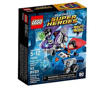 LEGO Juego de construcciones con 93 piezas Mighty Micros Superman vs. Bizarro, Super Héroes Dc Cómics 76068 1 unidad