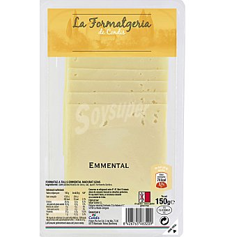 Emmental Queso condis lonchas 150 G