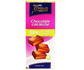 Tirma Chocolate con leche sin azúcares añadidos 125 gramos