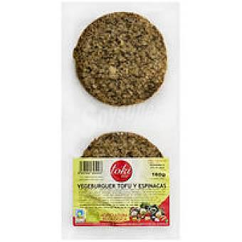 Toki Eco Vegeburger de tofu-espinaca Paquete 160 g
