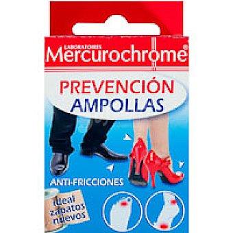Mercurochrome Esparadrapo prevención de ampollas 16 unidades