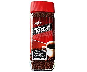Toscaf Café soluble descafeinado Frasco de 100 Gramos