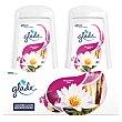Ambientador absorbeolores duplo caricias Pack 2 u x 150 g Glade