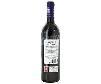 Marqués del Puerto Vino tinto reserva tempranillo y mazuelo con denominación de origen Rioja Botella de 75 centilitros