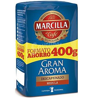 Marcilla Café molido descafeinado mezcla 400 g