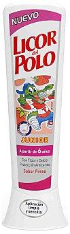 Licor del Polo Dentífrico Junior Sabor Fresa (+6 años) 75 ml