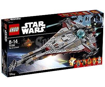 LEGO Star Wars Juego de construcciones con 775 piezas The Arrowhead, Star Wars 75186 lego