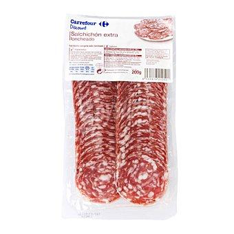 Carrefour Discount Salchichón extra loncheado 200 g