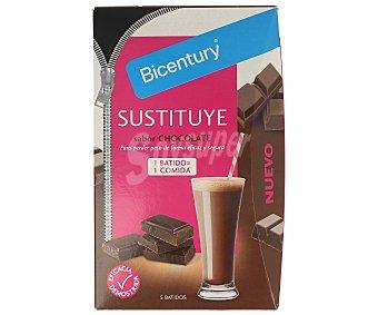 Bicentury Batido con sabor a chocolate Sustituye 5 unidades (225 g)