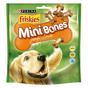 Friskies Purina Snack minibones bicolor 125 gr