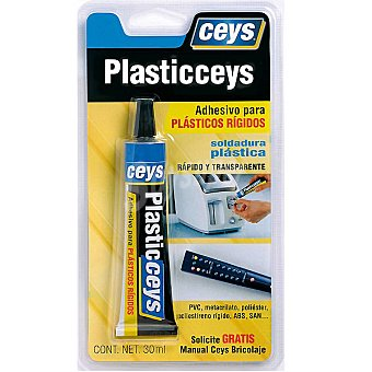 Ceys Plasticceys adhesivos para plasticos rigidos 30 ml