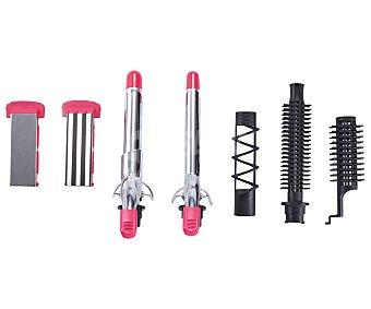Productos Económicos Alcampo Moldeador multiestilo selecline JDL-118 , temperatura max. 160 °C, 7 accesorios (producto económico alcampo), temperatura max. 160 °C, 7 accesorios