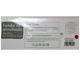 Auchan Funda de almohada color lavanda, 135/150 centímetros 1 Unidad