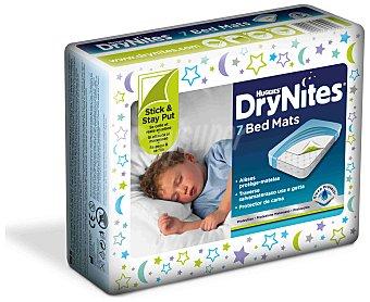 DryNites Protector de cama BedMats 7 unidades