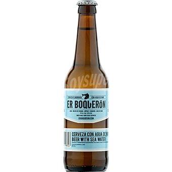 ER BOQUERÓN Cerveza rubia de Valencia  Botella 33 cl