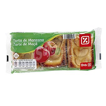DIA Tarta de manzana paquete 6 x 65 gr 6 x 65 gr