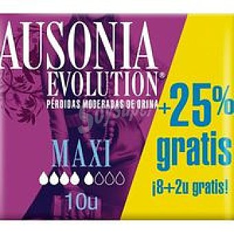 Ausonia Compresa maxi ausonia Discreet Paquete 12 uds