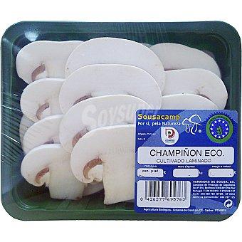 YAÑEZ Champiñón laminado ecológico Bandeja 250 g