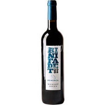 BINIFADET Vino Tinto Joven De La Tierra Menorca Botella 75 cl