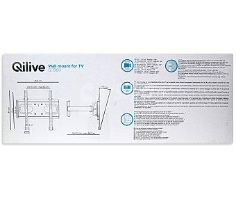 "QILIVE Q1980.V400 Soporte inclinable rotativo universal con un brazo para televisores de 23"" a 56"""