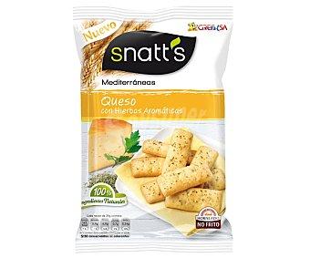 Snatt's Grefusa Palitos Mediterráneos de queso con hierbas aromáticas 110 g